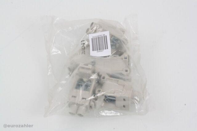 5 Stück Hensel KKL 25 N- oder PE-Verbindungsklemme bis 35mm² Neu & OVP & Vers...