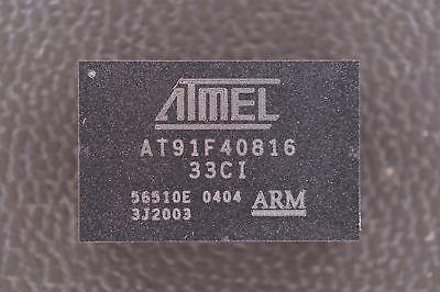 At91f40816-33ci Atmel 1632-bit Arm Microcontroller 40mhz 3.0v 2mb 120 Pin Bga