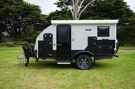 *Fantasy* 12 ft Off-road Caravan Pop-Top Camper Hybrid Trailer Dandenong Greater Dandenong Preview