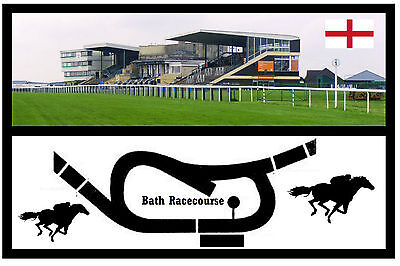 BATH RACECOURSE CIRCUIT - SOUVENIR FUN NOVELTY FRIDGE MAGNET - BRAND NEW - GIFT