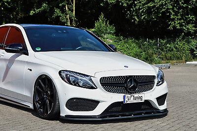 Spoilerschwert Frontspoiler aus ABS für Mercedes C-Klasse 43AMG W205 mit ABE