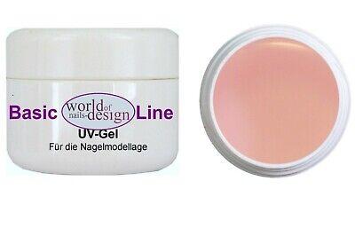 Aktion: 15 ml UV Aufbau Gel Rose thick ✅ Nagelgel für Babyboomer  ✅ Rosa milchig