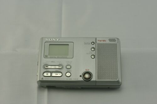 SONY Portable MD Recorder MZ-B10 working