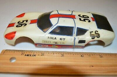 1960's vintage 1/24th slot car Lola GT Can Am body