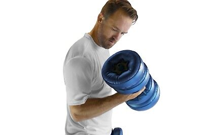 AquaBells Dumbbells Water Therapy Inflatable Travel Light Home Gym 16 lbs AB2 for sale  Shipping to India