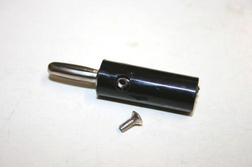 25 PACK HH Smith® 204-103 Banana Plug-Black