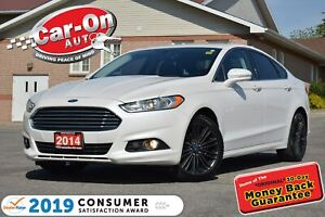 2014 Ford Fusion SE EcoBoost LEATHER NAV SUNROOF REAR CAM LOADED