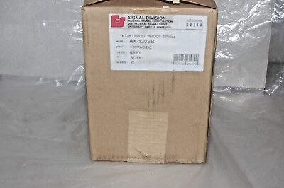 Federal Signal Corporation Ax-120sb Explosion Proof Siren