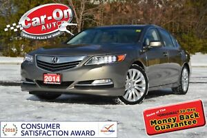 2014 Acura RLX Elite Pkg LEATHER SUNROOF NAV REAR CAM KRELL AUDI