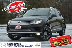 2016 Volkswagen Touareg 3.6L LEATHER NAV PANO ROOF REAR CAM