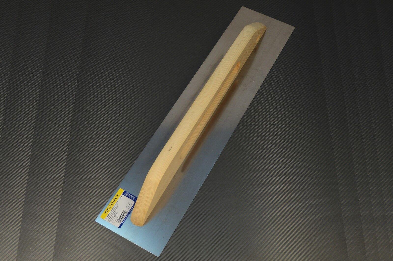 Schweizer Aufziehplatte Glattekelle Glättkelle Glätter 550x130 Traufel Abzieher