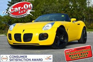 2008 Pontiac Solstice GXP TURBO LEATHER ONLY 40,000 KM 19 ALLOYS
