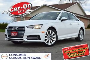 2018 Audi A4 2.0T Quattro LEATHER SUNROOF HTD SEATS