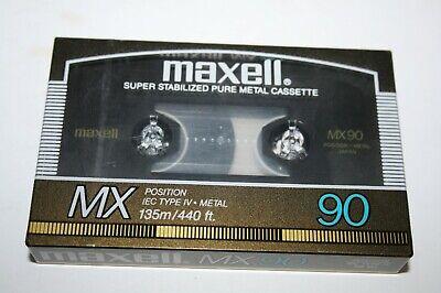 Maxell CAPSULE 60 Metal audiokassette cassette audio tape sealed