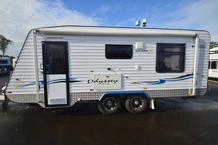 2012 GALAXY ODYSSEY LIMITED EDITION CARAVAN Tandem Axle 18' Gympie Gympie Area Preview