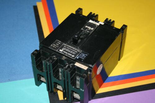 FEDERAL PACIFIC 3 POLE 20 AMP BREAKER TYPE EHB 480 VOLT