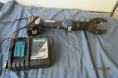 Sherman Reilly Textron Cordless Hydraulic Cable Cutter Makita 5.0ah Battery