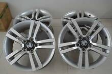 "4 SET 18"" ALLOY WHEELS COMMODORE VE + GOOD CONDITION Virginia Brisbane North East Preview"