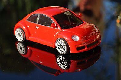 New Beetle in rot selten+neue  Karosse  für MR-02 MR- 03 für  Mini-Z neu ovp+TOP