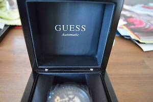 NEW GUESS MENS WATCH U25004LI BLACK BLING AUTOMATIC Rangeville Toowoomba City Preview