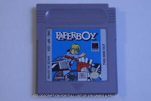 278 Gameboy (GB) Gameboy Color (GBC) Gameboy Advance (GBA) Games