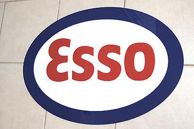 ESSO SIGN 3D GAS STATION