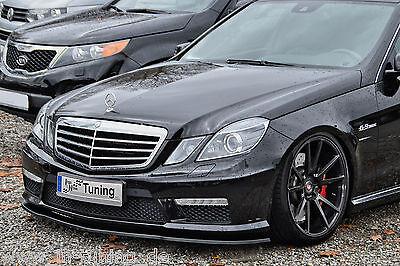Spoilerschwert Frontspoiler Cuplippe ABS Mercedes E-Klasse W212 E63AMG mit ABE