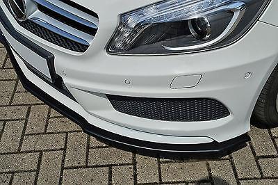 Sonderaktion Spoilerschwert Frontspoiler ABS Mercedes A-Klasse AMG-Line W176 ABE