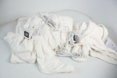 50416 heated electric blanket bedding w sensorsafe