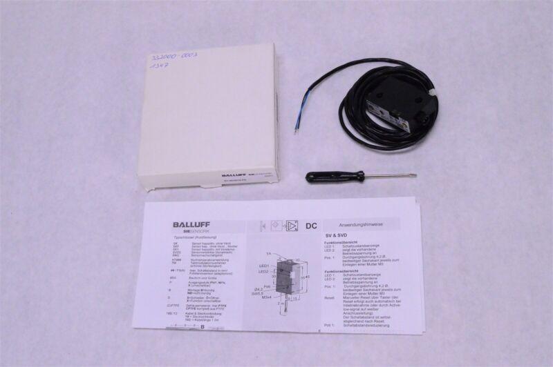 Balluff Siesensorik Proximity Sensor Switch SV-45/30/15-PS