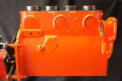 Allis Chalmers B Tractor Bare Engine Motor Block Sleeves Pistons Crankcase Ac