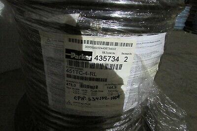 Parker Tough Cover 451tc-4-rl 14 I.d X 1 Wire Hydraulic Hose 3000 Psi 2 Pieces
