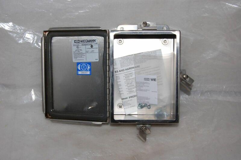 Wiegmann Carbon Steel Enclosure Bn4080604chssa