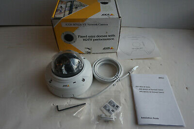 Axis M3026-VE 3 Megapixel 1080p Outdoor Dome Network IP PoE Security Camera for sale  Shipping to Nigeria