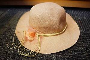Wide Brim Hat - New (Bought for $42) Acton North Canberra Preview