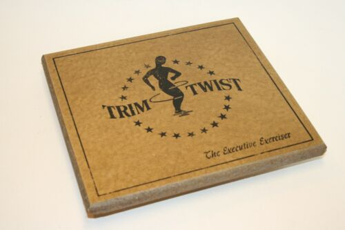 Vintage Trim Twist - The Executive Exerciser - Stand and Twist - Waist Twister