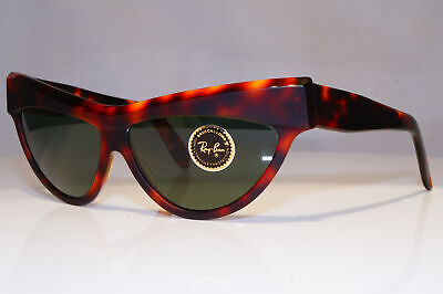 RAY-BAN New Womens Vintage Sunglasses Cat Eye ONYX NOS W0805 DARK TORTOISE 23924