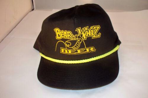 Vintage Bear Whiz Beer Adjustable Snapback Hat
