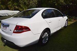 2010 Ford Falcon Sedan XT FG AUTO IN WHITE Daisy Hill Logan Area Preview