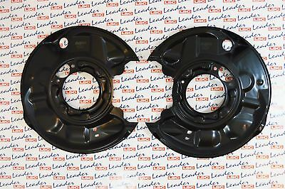 2 x Mercedes Benz C Class CLC CLK SLK Rear Brake Disc Shields 2034230320 New
