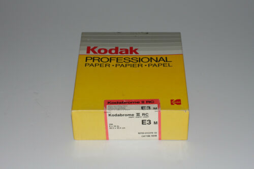 KODAK KODABROME 8X10 (250 SHT.) II RC DARKROOM PAPER