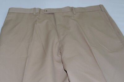 $155 NWOT JB Britches Torino Flat Front Wool Dress Pants Waist 38 Made in Italy
