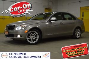 2008 Mercedes-Benz C-Class C300 4MATIC LEATHER SUNROOF HTD SEATS