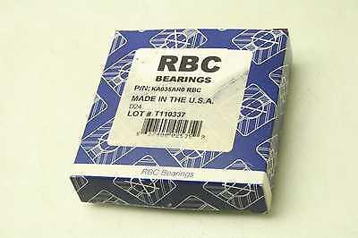New Rbc Ka035ar0 Large Diameter Bearing 3.5 Bore X 4 Diameter X 14 Wide