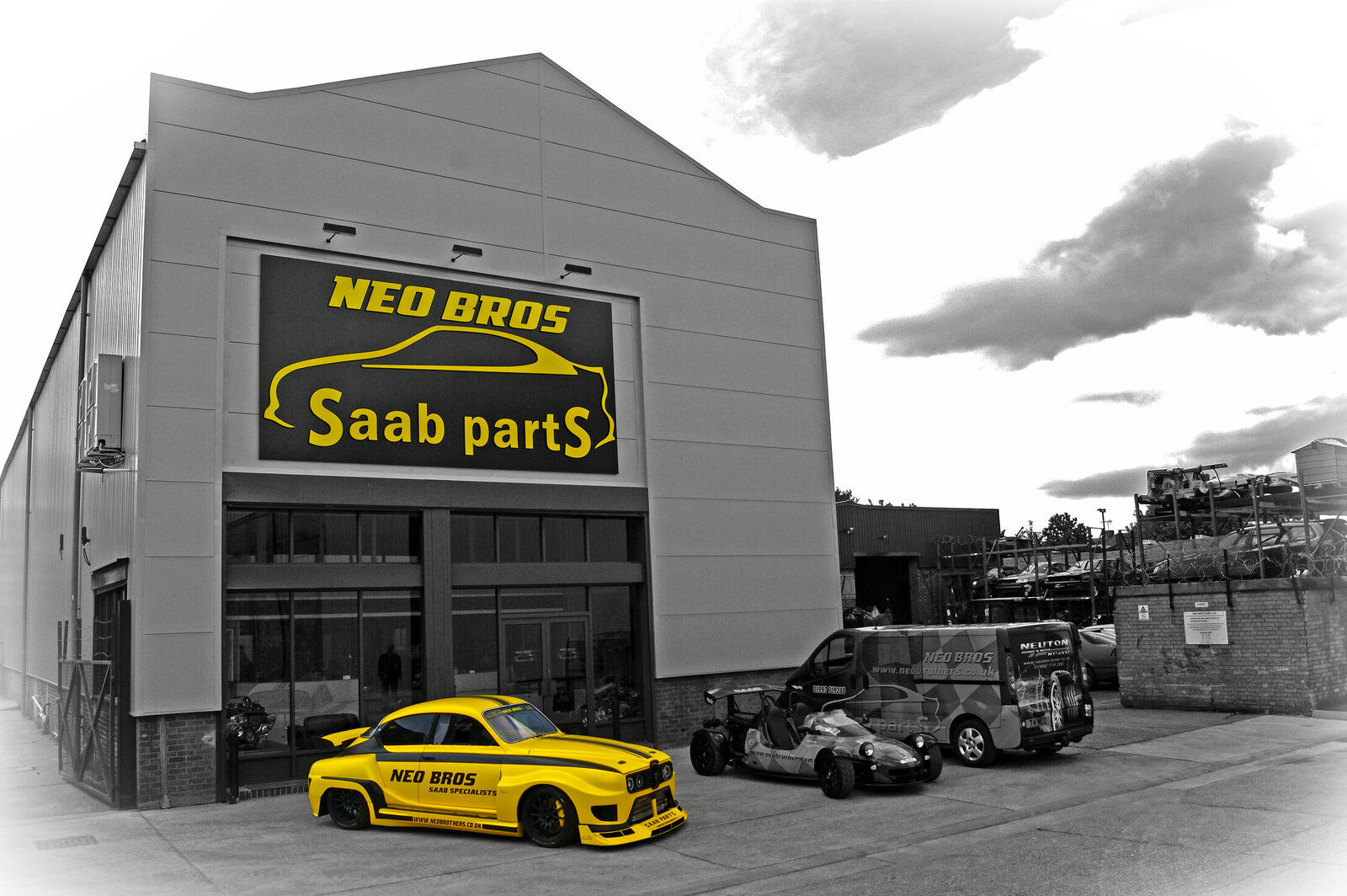 Neo Brothers - SAAB Parts Online