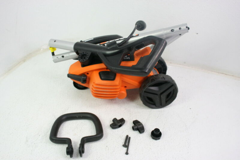 WORX WG896 Electric Lawn Edger 12 Amp 7.5 Inch Trencher Adjustable Shaft