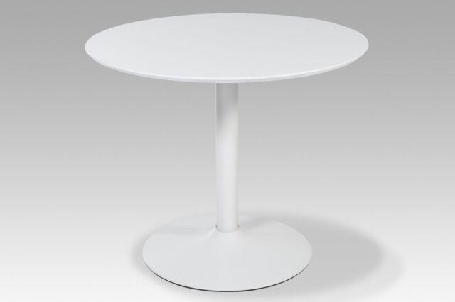 Esstisch JUDY Tisch Rundtisch Esszimmer weiß hochglanz 90 cm