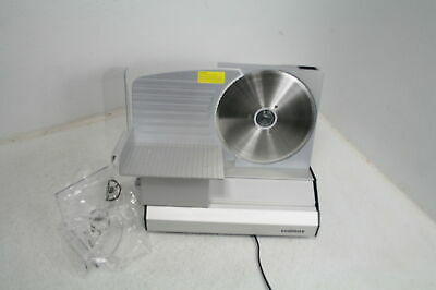 Cusimax Electric Deli Food Meat Slicer W Removable 8.7 Stainless Steel Blade