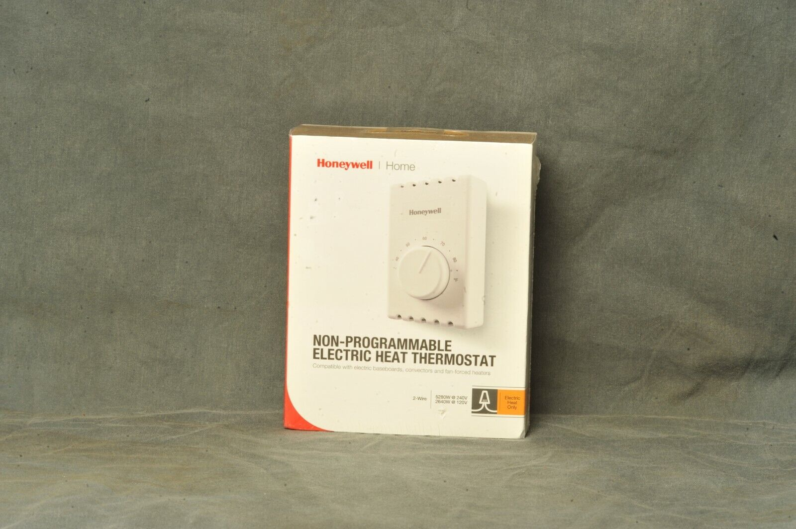 Honeywell T410A1013 Electric Baseboard Heat Thermostat 1 Pac