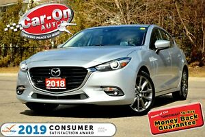 2018 Mazda Mazda3 Sport GT SKYACTIV LEATHER SUNROOF REAR CAM HTD